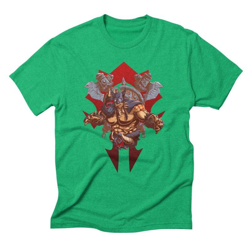 Rexxar War Craft Men's Triblend T-Shirt by fishark's Artist Shop