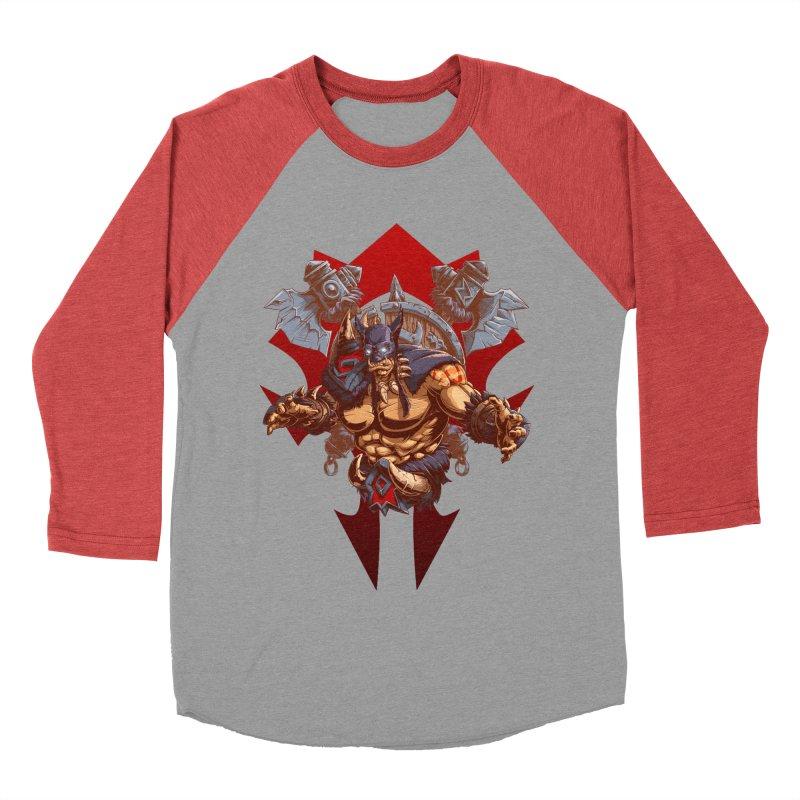 Rexxar War Craft Men's Baseball Triblend Longsleeve T-Shirt by fishark's Artist Shop