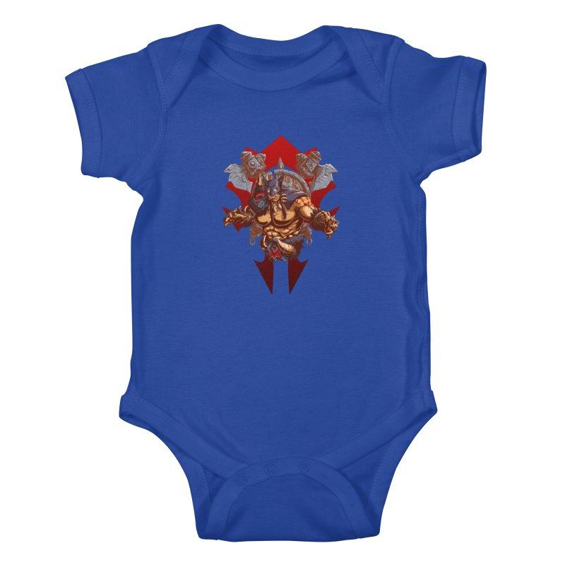 Rexxar War Craft Kids Baby Bodysuit by fishark's Artist Shop