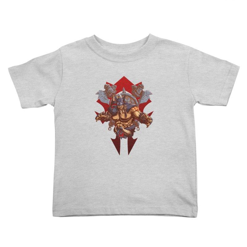 Rexxar War Craft Kids Toddler T-Shirt by fishark's Artist Shop