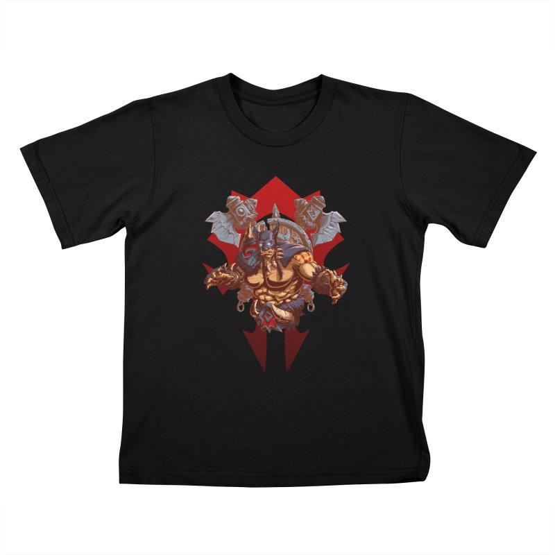 Rexxar War Craft Kids T-Shirt by fishark's Artist Shop