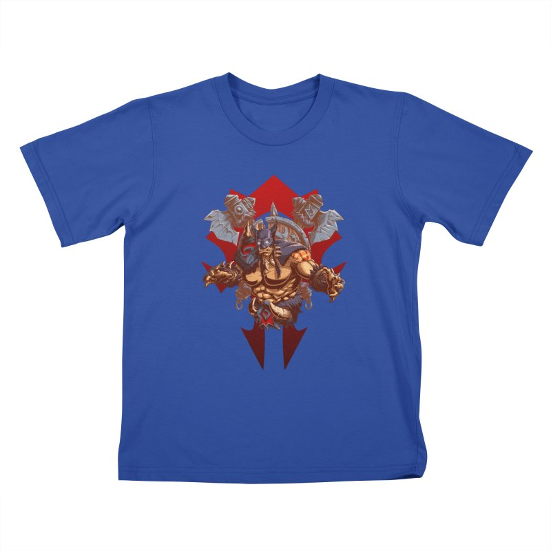 Rexxar War Craft Kids T-Shirt by fishark's Artist Shop