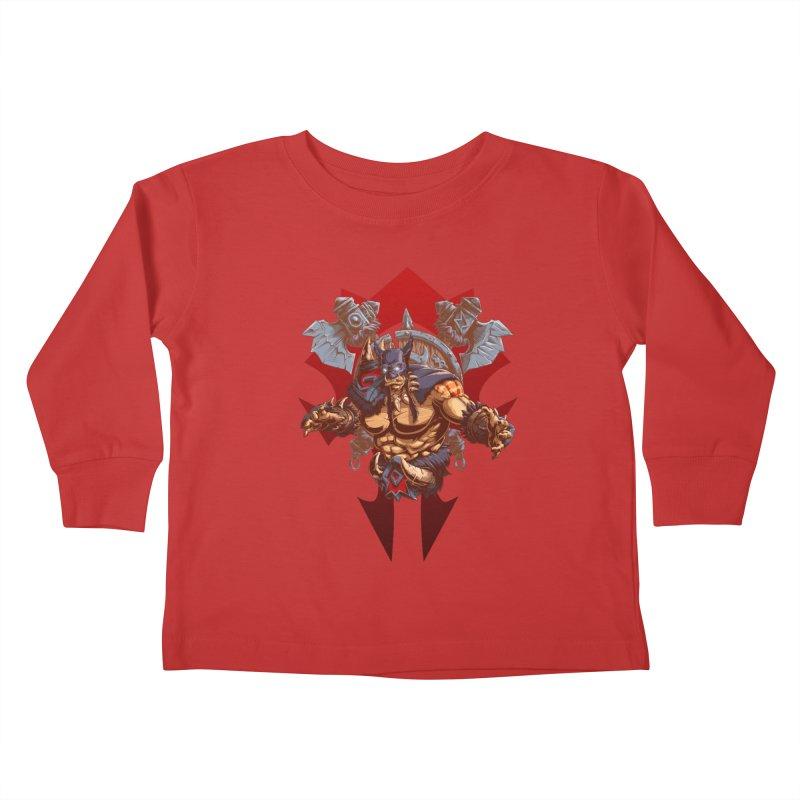 Rexxar War Craft Kids Toddler Longsleeve T-Shirt by fishark's Artist Shop