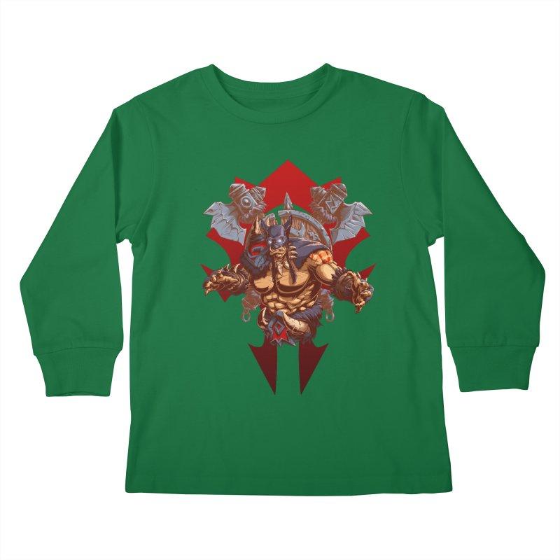 Rexxar War Craft Kids Longsleeve T-Shirt by fishark's Artist Shop