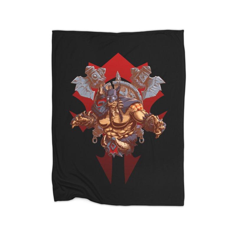 Rexxar War Craft Home Blanket by fishark's Artist Shop
