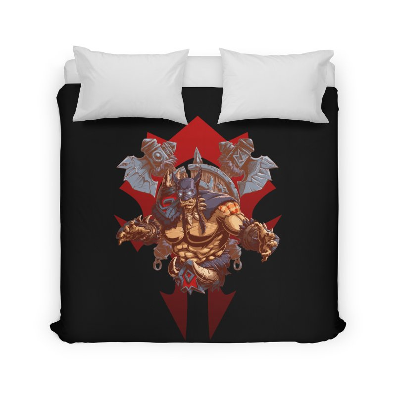 Rexxar War Craft Home Duvet by fishark's Artist Shop