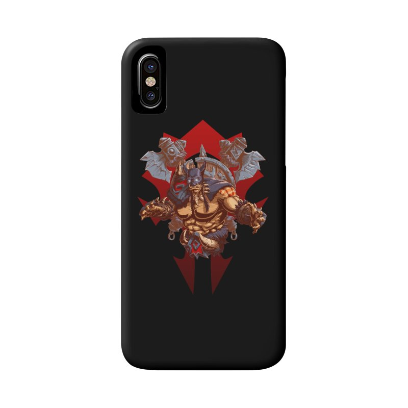Rexxar War Craft Accessories Phone Case by fishark's Artist Shop