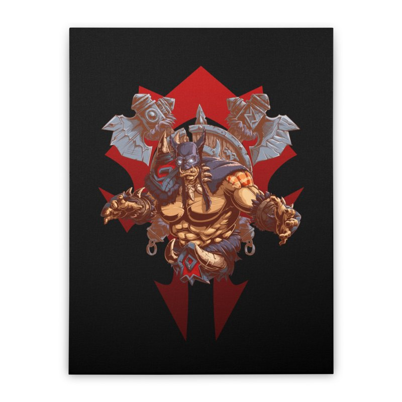Rexxar War Craft Home Stretched Canvas by fishark's Artist Shop