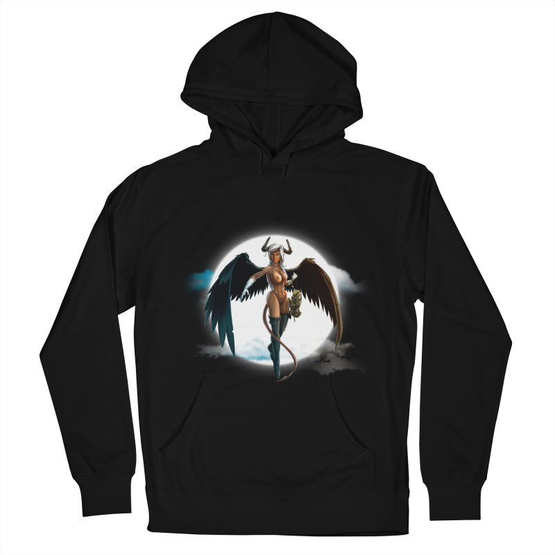 Succub Men's French Terry Pullover Hoody by fishark's Artist Shop