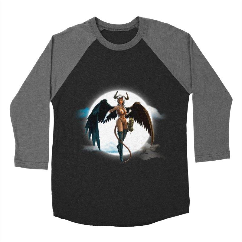 Succub Men's Baseball Triblend Longsleeve T-Shirt by fishark's Artist Shop