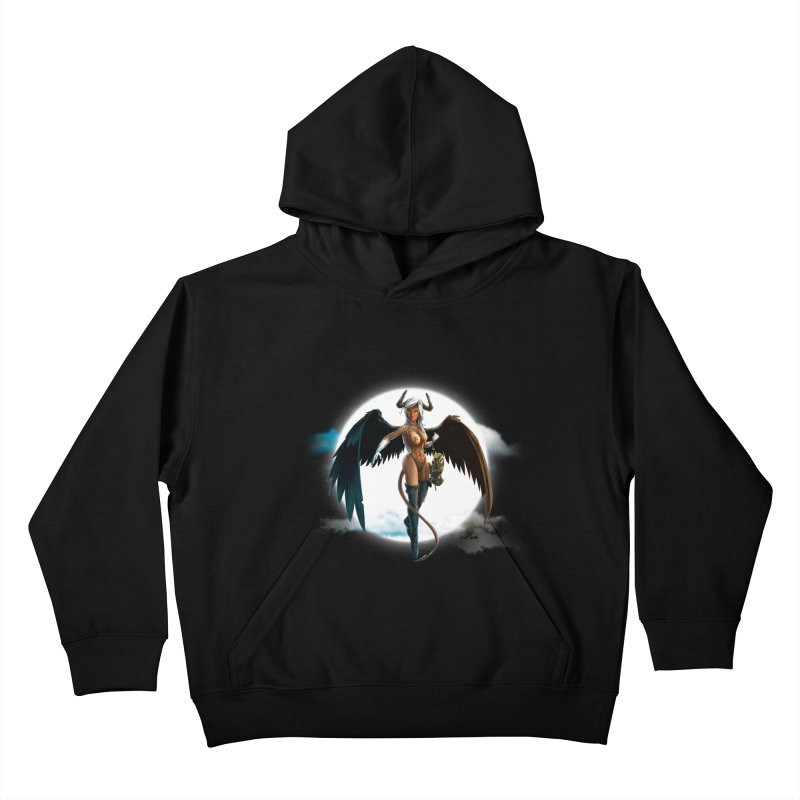 Succub Kids Pullover Hoody by fishark's Artist Shop
