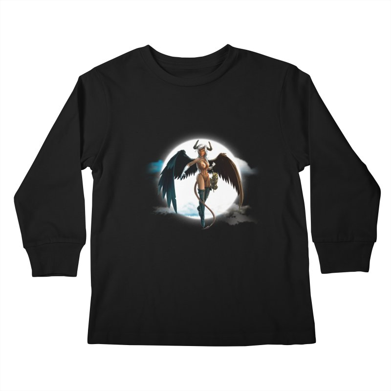 Succub Kids Longsleeve T-Shirt by fishark's Artist Shop