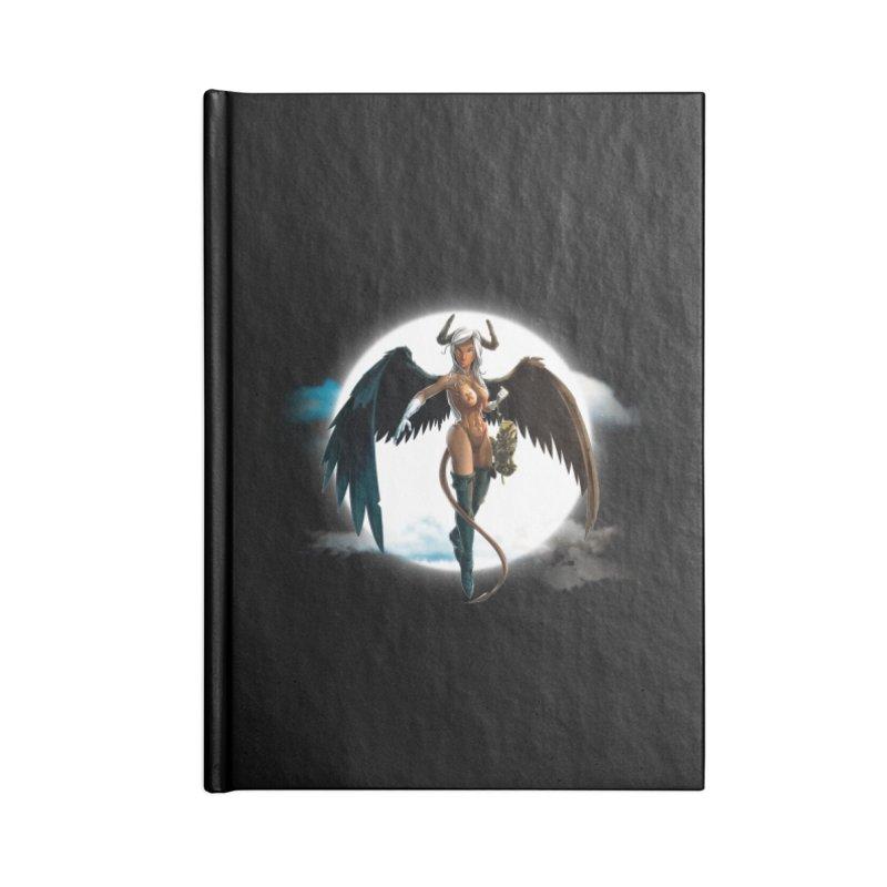 Succub Accessories Notebook by fishark's Artist Shop