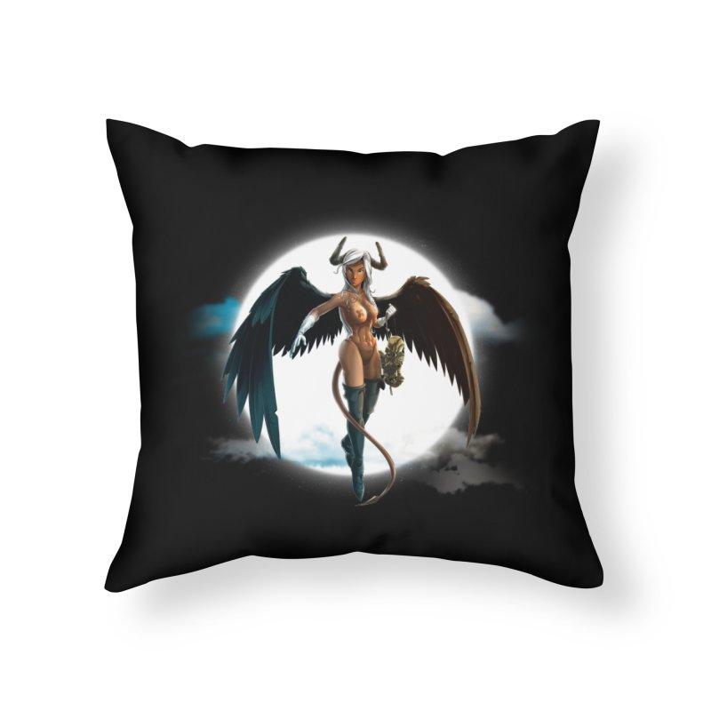 Succub Home Throw Pillow by fishark's Artist Shop