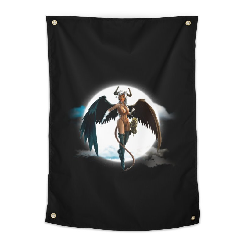 Succub Home Tapestry by fishark's Artist Shop