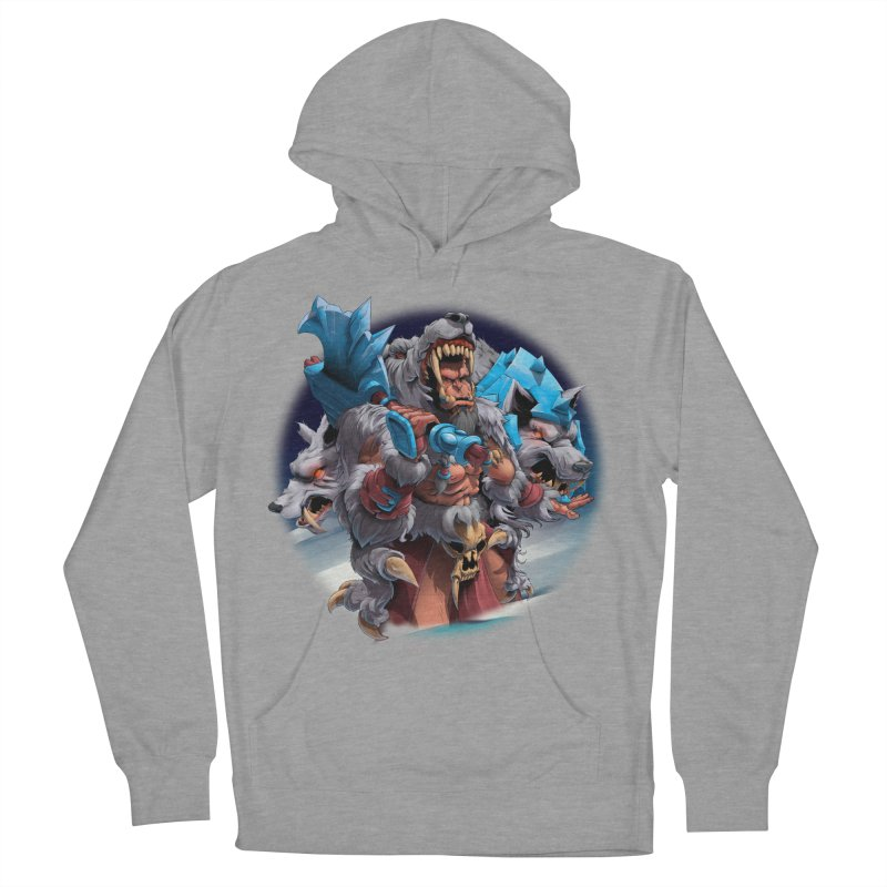 Durotan WarCraft Women's French Terry Pullover Hoody by fishark's Artist Shop