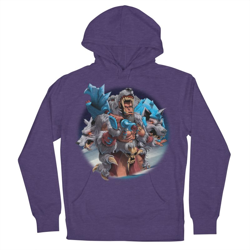 Durotan WarCraft Men's French Terry Pullover Hoody by fishark's Artist Shop