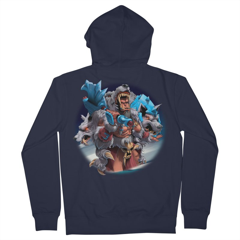 Durotan WarCraft Men's Zip-Up Hoody by fishark's Artist Shop