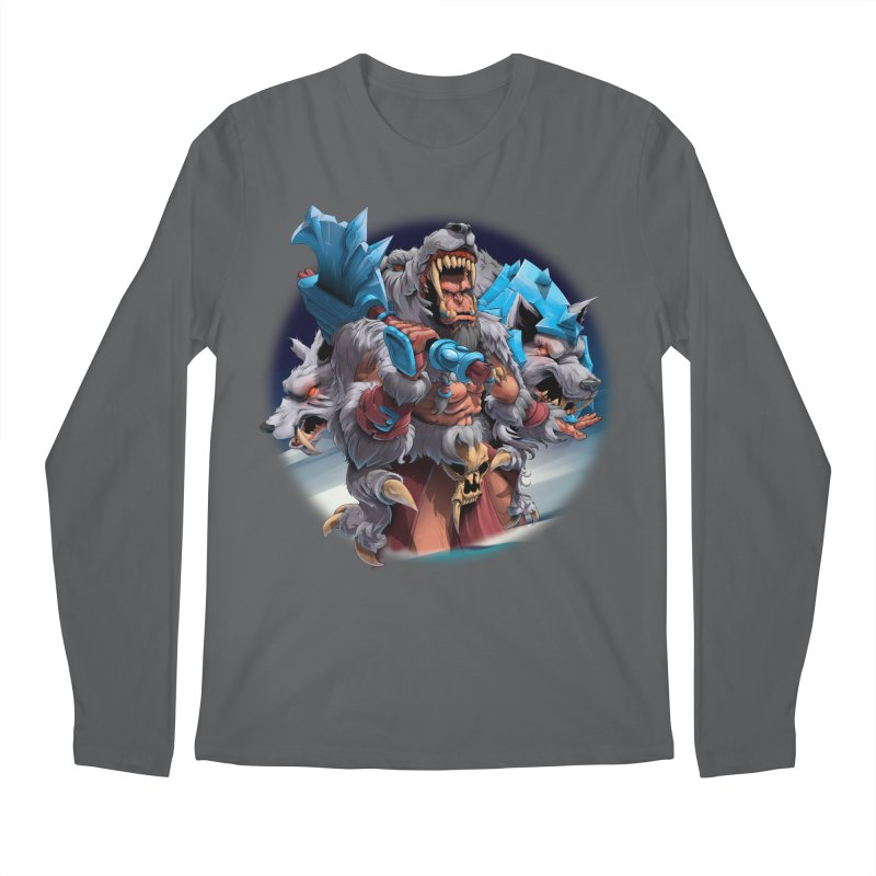 Durotan WarCraft Men's Regular Longsleeve T-Shirt by fishark's Artist Shop