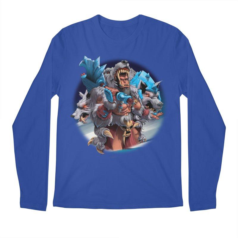 Durotan WarCraft Men's Regular Longsleeve T-Shirt by fishark's Artist Shop