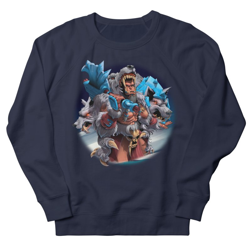Durotan WarCraft Men's French Terry Sweatshirt by fishark's Artist Shop