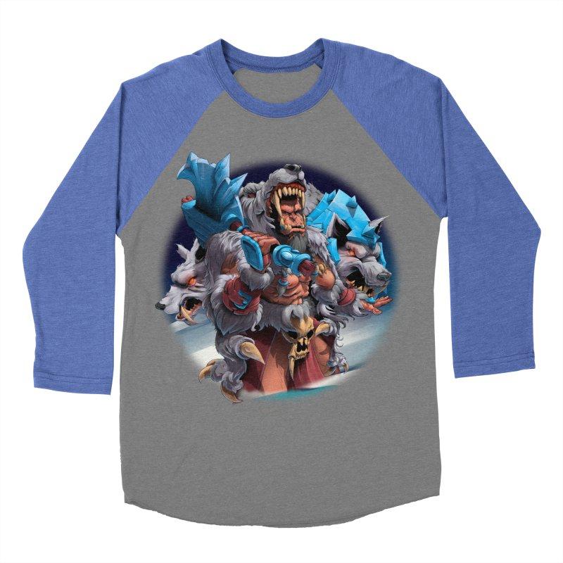 Durotan WarCraft Women's Baseball Triblend Longsleeve T-Shirt by fishark's Artist Shop