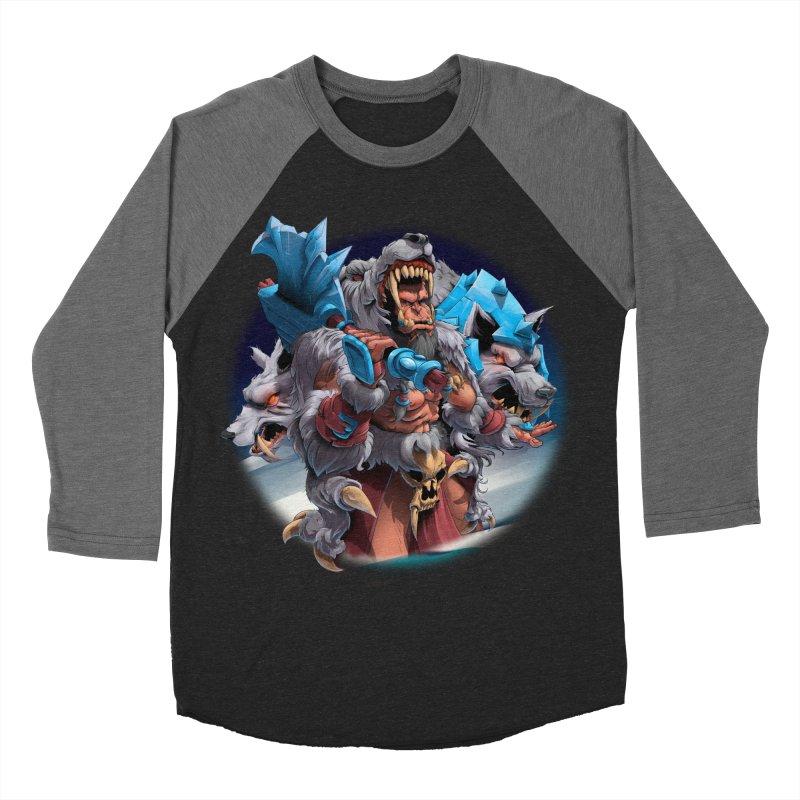 Durotan WarCraft Women's Baseball Triblend T-Shirt by fishark's Artist Shop