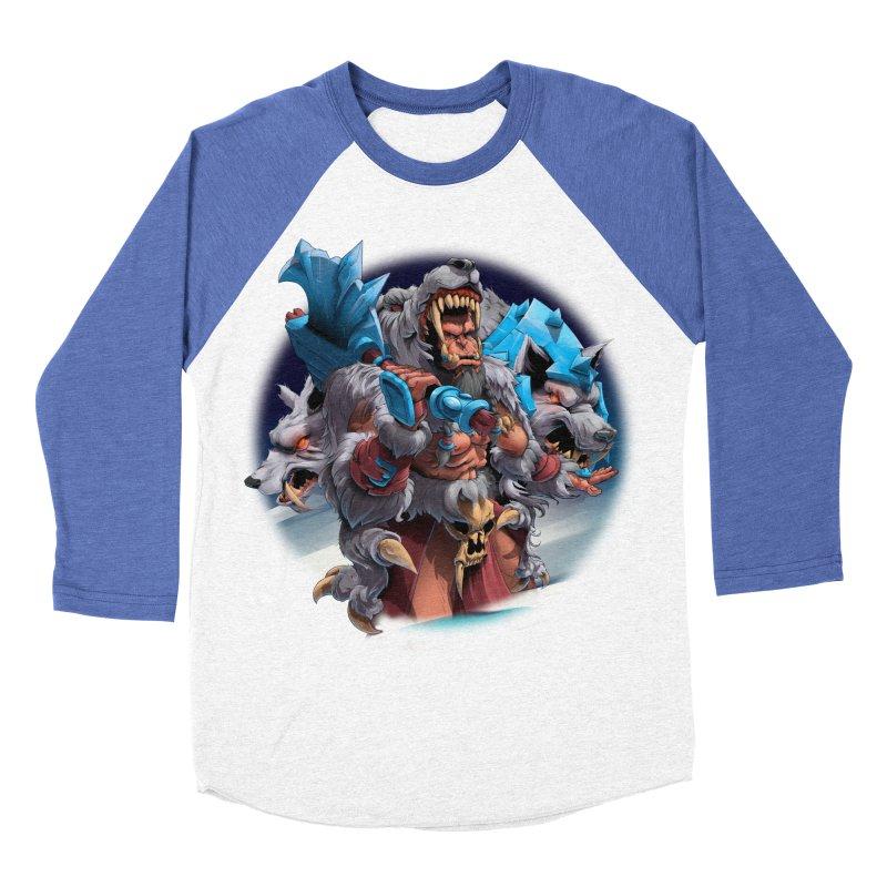 Durotan WarCraft Men's Baseball Triblend Longsleeve T-Shirt by fishark's Artist Shop