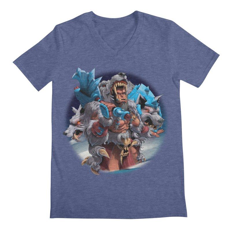 Durotan WarCraft Men's Regular V-Neck by fishark's Artist Shop
