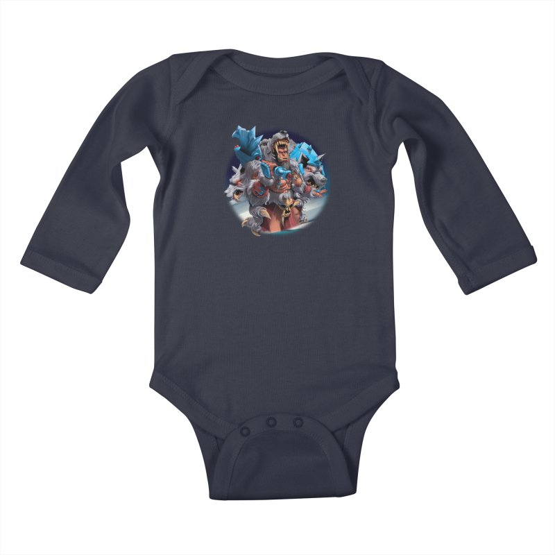 Durotan WarCraft Kids Baby Longsleeve Bodysuit by fishark's Artist Shop