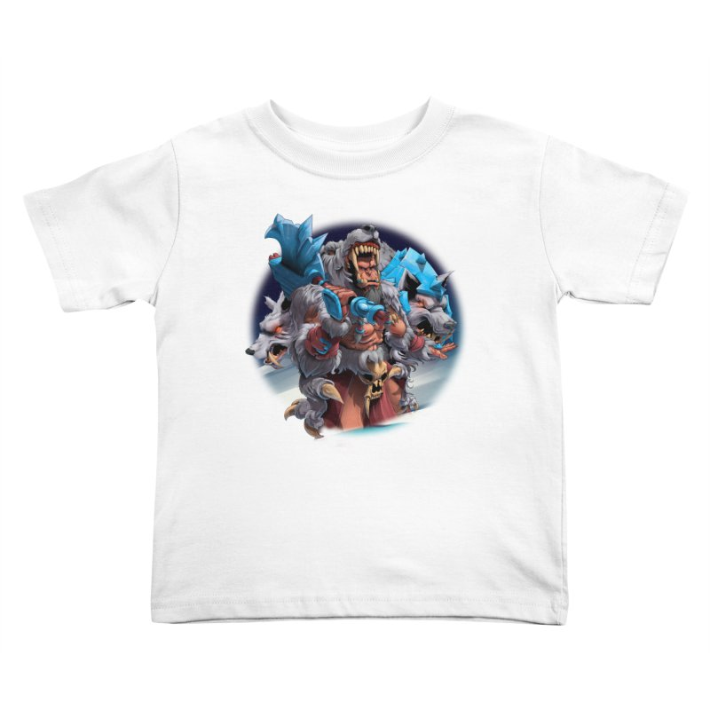 Durotan WarCraft Kids Toddler T-Shirt by fishark's Artist Shop