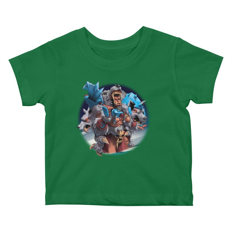 Durotan WarCraft Kids Baby T-Shirt by fishark's Artist Shop