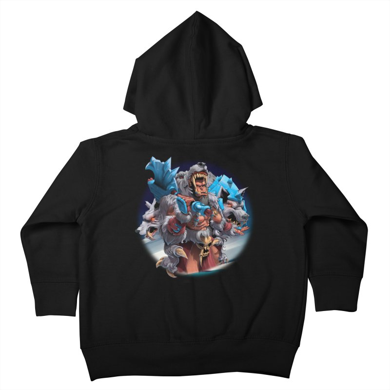 Durotan WarCraft Kids Toddler Zip-Up Hoody by fishark's Artist Shop