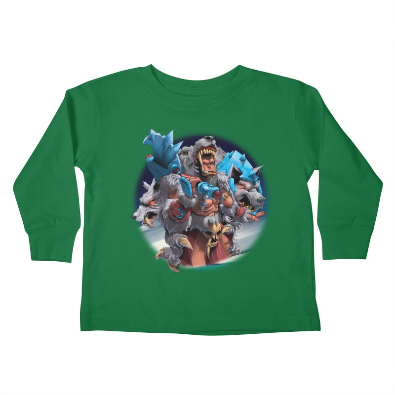 Durotan WarCraft Kids Toddler Longsleeve T-Shirt by fishark's Artist Shop