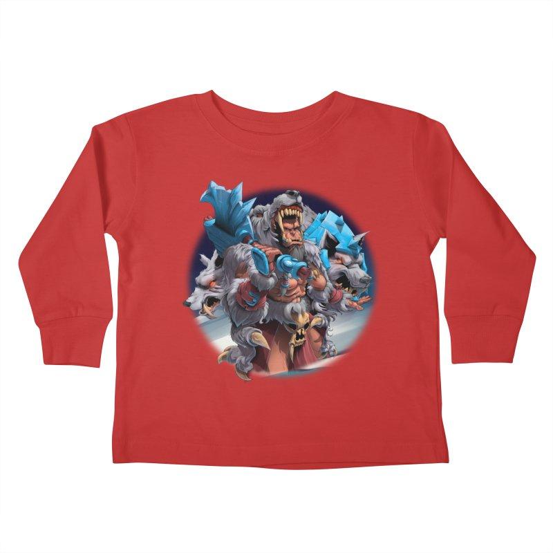 Durotan WarCraft Kids Toddler Longsleeve T-Shirt by fishark's Artist Shop