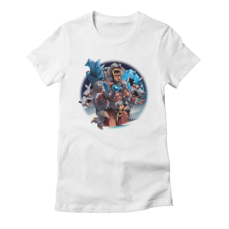 Durotan WarCraft Women's Fitted T-Shirt by fishark's Artist Shop