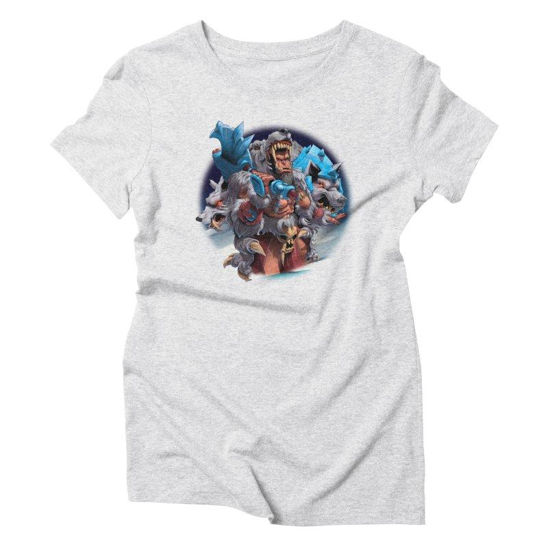 Durotan WarCraft Women's Triblend T-Shirt by fishark's Artist Shop