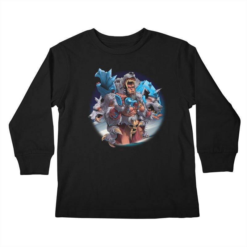 Durotan WarCraft Kids Longsleeve T-Shirt by fishark's Artist Shop