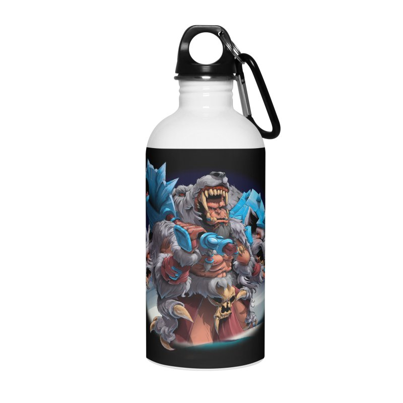 Durotan WarCraft Accessories Water Bottle by fishark's Artist Shop
