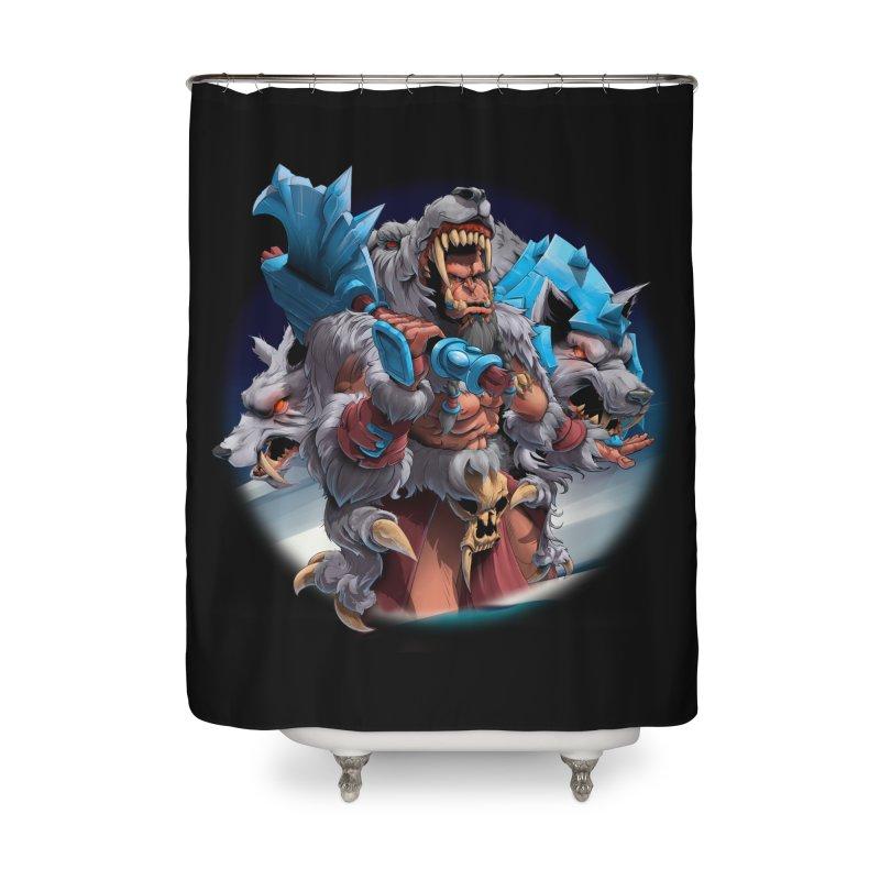Durotan WarCraft Home Shower Curtain by fishark's Artist Shop