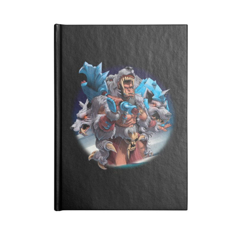 Durotan WarCraft Accessories Notebook by fishark's Artist Shop