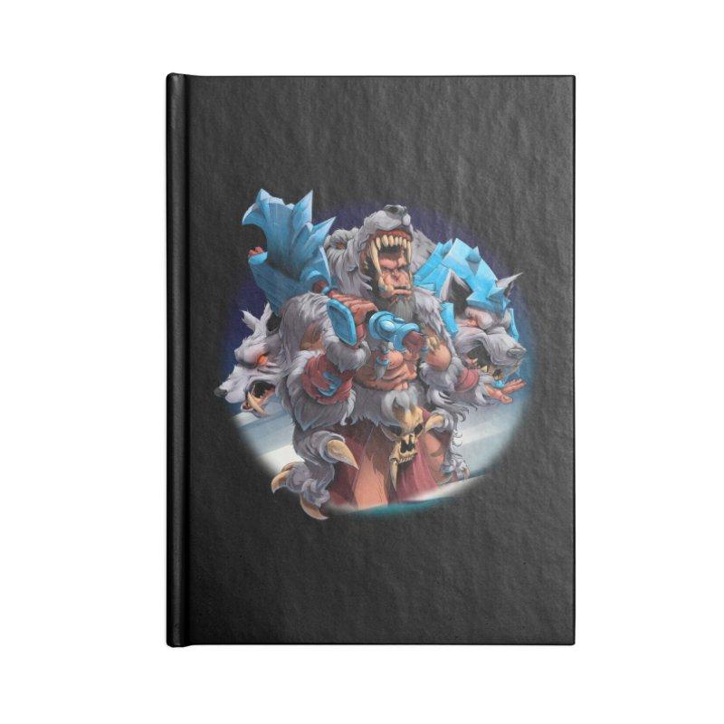 Durotan WarCraft Accessories Notebook by fishark's Artist Shop