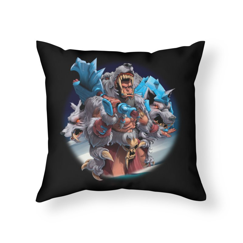 Durotan WarCraft Home Throw Pillow by fishark's Artist Shop