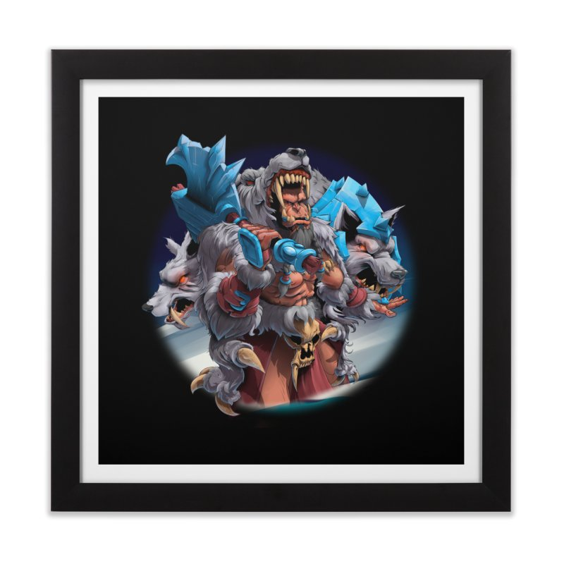 Durotan WarCraft Home Framed Fine Art Print by fishark's Artist Shop