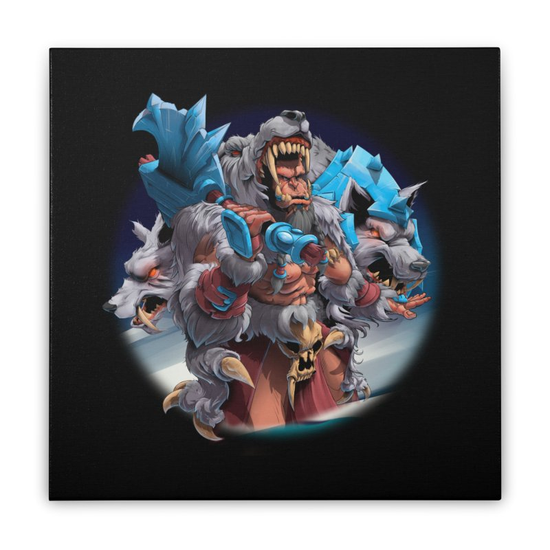 Durotan WarCraft Home Stretched Canvas by fishark's Artist Shop