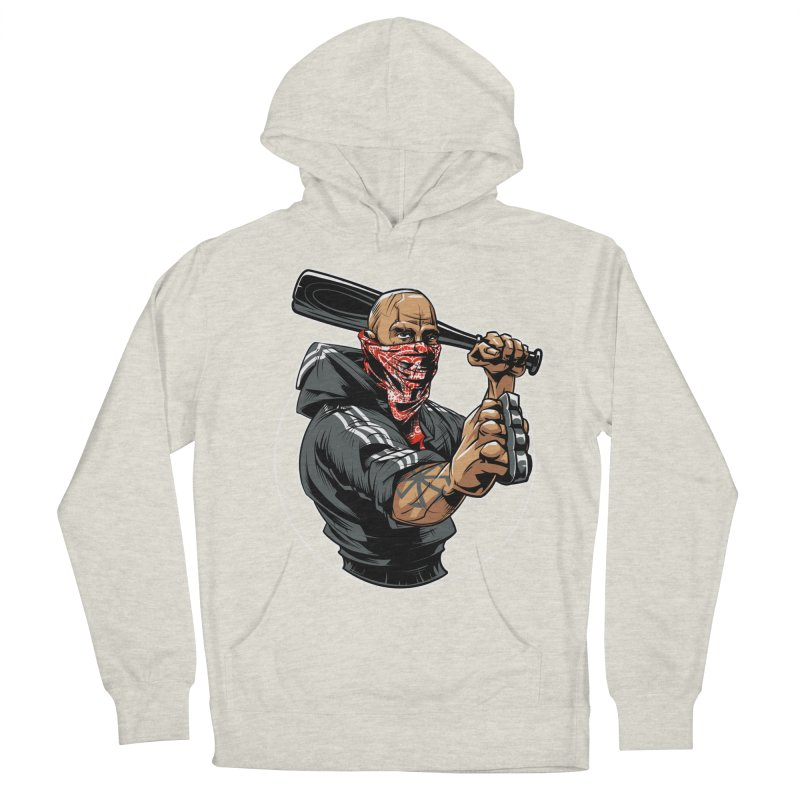 Bandit Women's French Terry Pullover Hoody by fishark's Artist Shop