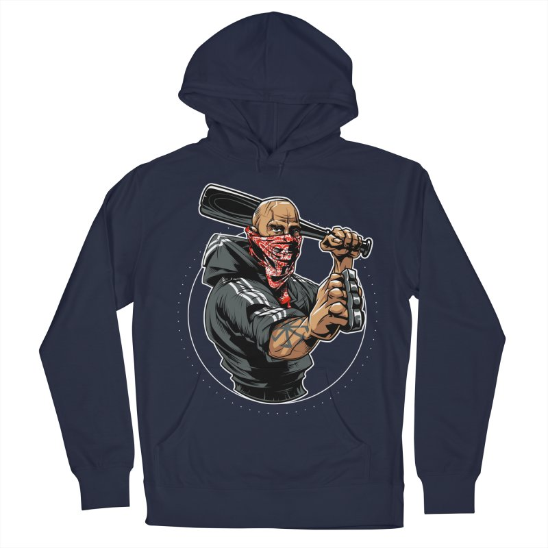Bandit Men's French Terry Pullover Hoody by fishark's Artist Shop