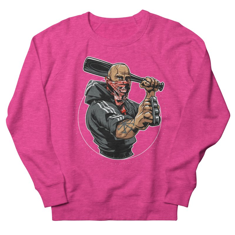 Bandit Women's French Terry Sweatshirt by fishark's Artist Shop