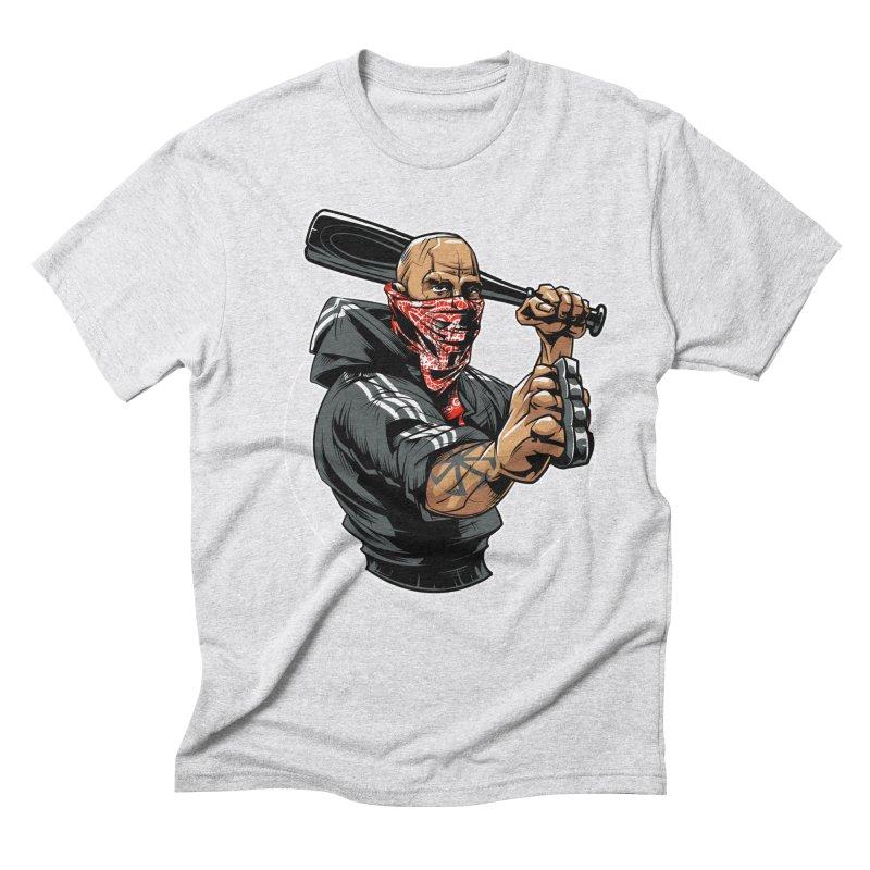 Bandit Men's Triblend T-Shirt by fishark's Artist Shop