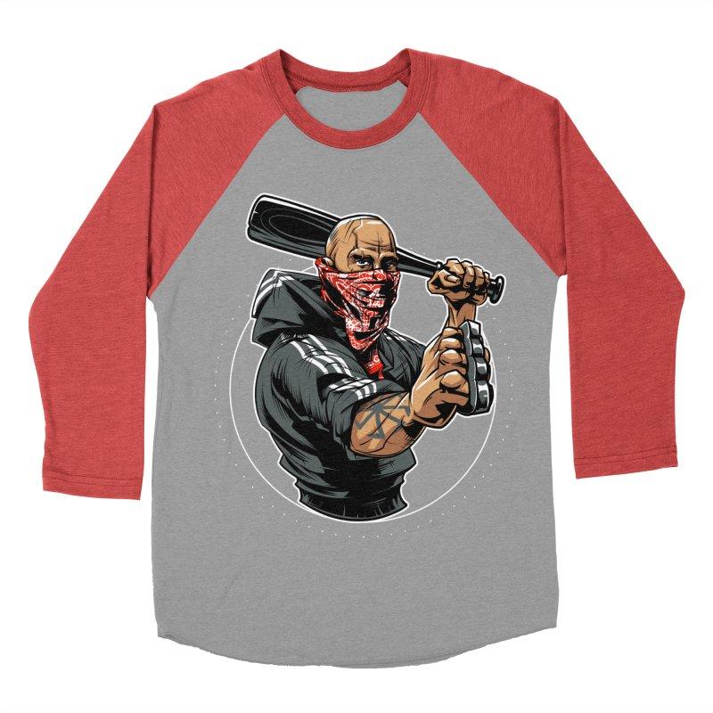 Bandit Women's Baseball Triblend T-Shirt by fishark's Artist Shop